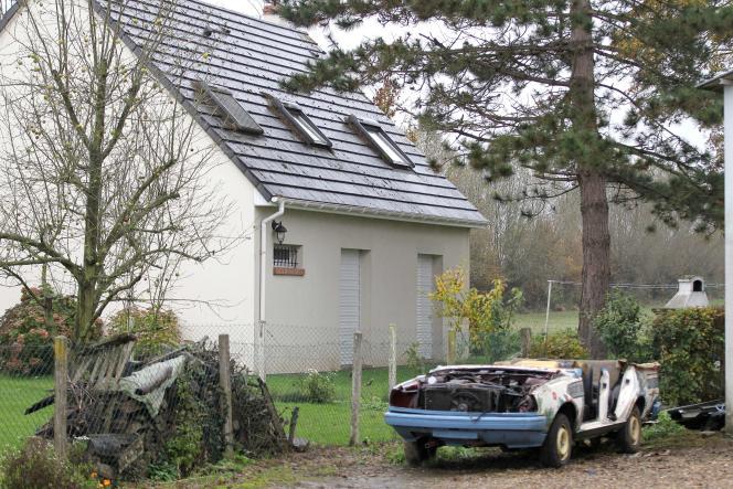 La maison familiale de Maxime Hauchard, à Bosc-Roger, dans l'Eure.