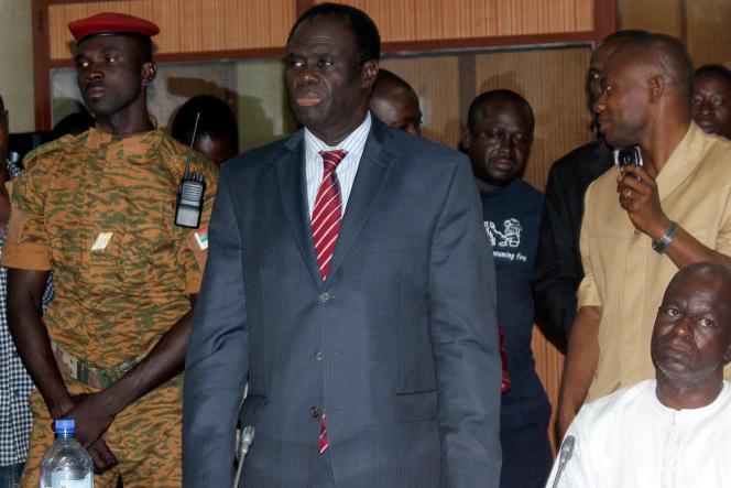 Le président de transition du Burkina Faso, Michel Kafando, le 17 novembre 2014.