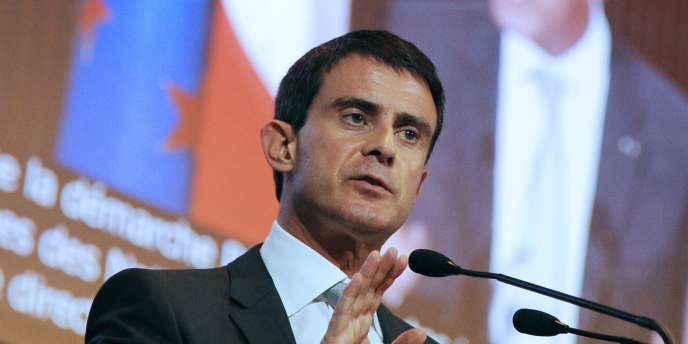 Le premier ministre, Manuel Valls, le 17 novembre à Paris.