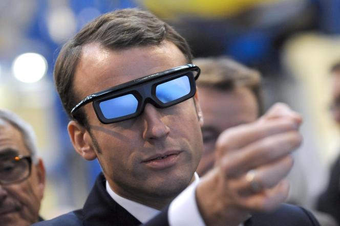 Le ministre de l'économie, Emmanuel Macron, le 14 novembre.