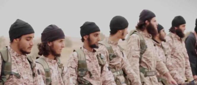 Capture d'écran de la vidéo diffusée par l'Etat islamique le 16 novembre.