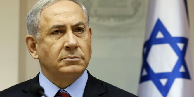 Benyamin Nétanyahou, premier ministre d'Israël, le 16novembre.