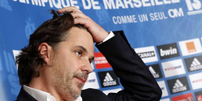 Vincent Labrune, ici le 9 décembre 2013 à Marseille.