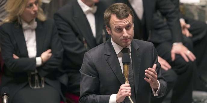Devant les députés, mardi, M. Macron a appelé à