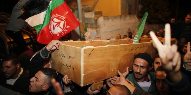 Funérailles de Youssef Al-Ramouni.