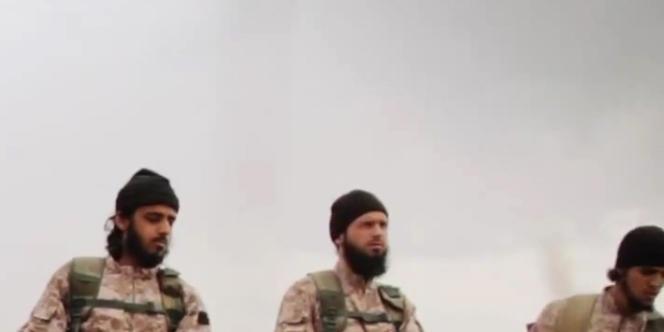 Capture de la vidéo diffusée le 16 novembre par l'Etat islamique.