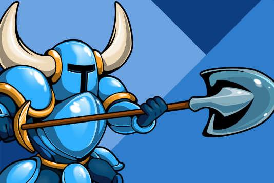 Shovel Knight, le chevalier à la pelle.