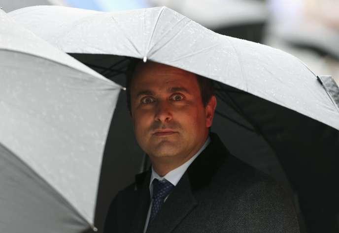 M. Bettel, premier ministre libéral du Luxembourg depuis décembre 2013, contre-attaque.