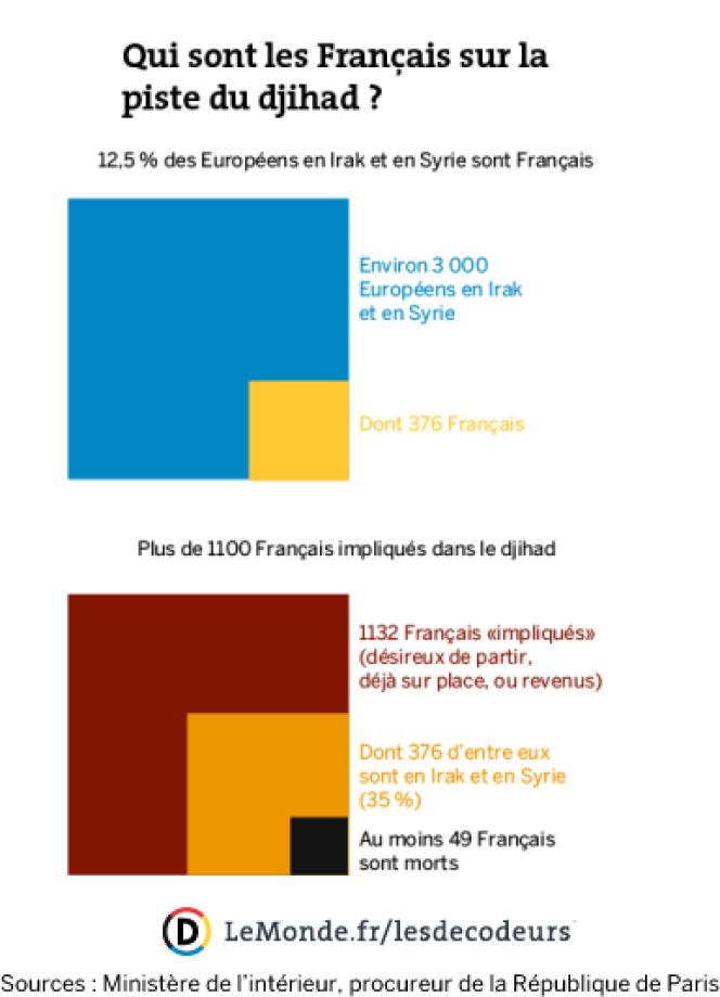 Qui sont les Français sur la piste du djihad ?