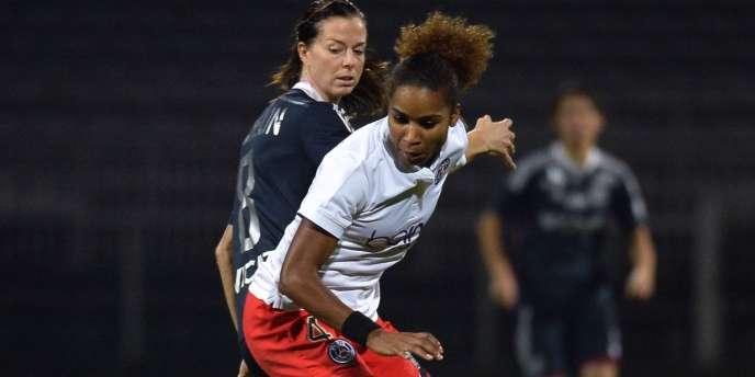 Laura Georges et le PSG féminine affronteront Glasgow City en quarts de finale de la Ligue des champions.