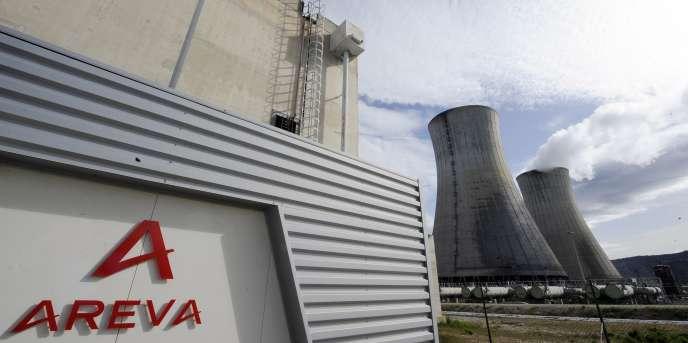 La centrale nucléaire du Tricastin (Drôme), à Saint-Paul-Trois-Châteaux, en 2011.