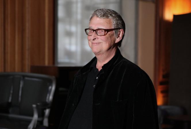 Le réalisateur Mike Nichols à Paris, en janvier 2008.