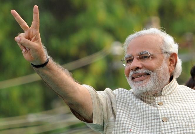 Le Premier ministre indien, Narendra Modi en mai 2014.