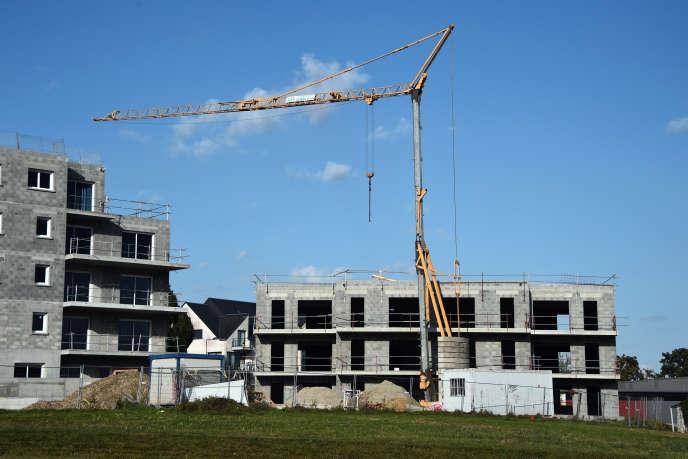Construction à Thorigné-Fouillard (Ille-et-Vilaine).