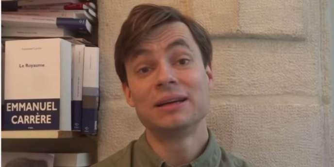 Mathias Menegoz, auteur de