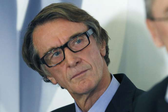 Jim Ratcliffe à Londres, en 2014.