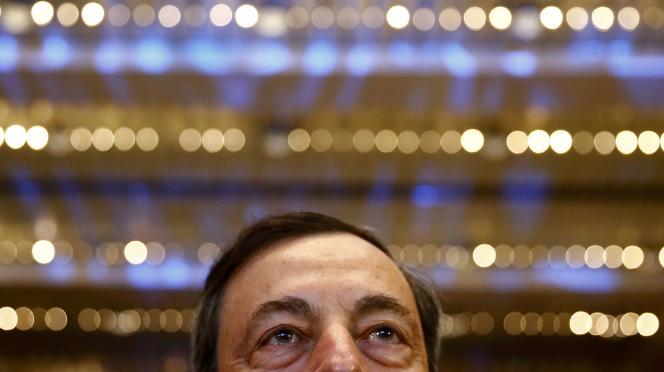 L'Italien estime qu'il est devenu « essentiel pour la BCE d'agir et de continuer à agir pour ramener l'inflation à proximité de 2 % ».
