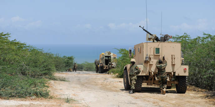 Des véhicules de l'Union africaine en Somalie.