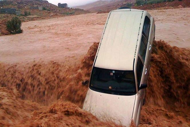 Dans la région de Ouarzazate, le 23 novembre.