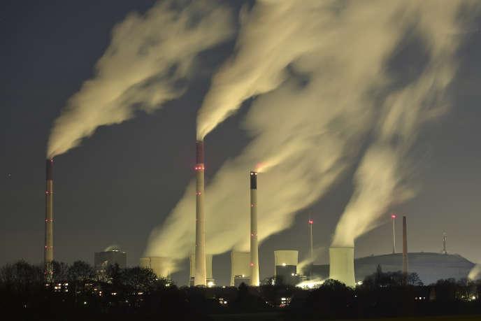 La centrale à charbon deGelsenkirchen, en Allemagne, est l'une des plus puissantes en Europe.