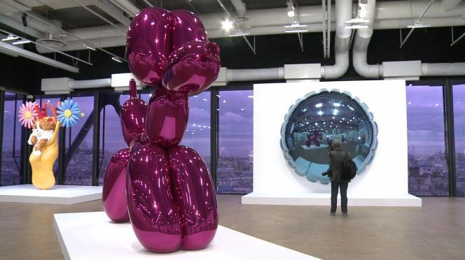 Jeff Koons : une rétrospective événement au Centre Pompidou à Paris, jusqu'au 27 avril 2015.
