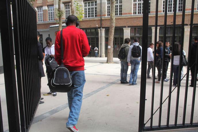 Un lycée professionnel parisien, le 16 septembre 2010.
