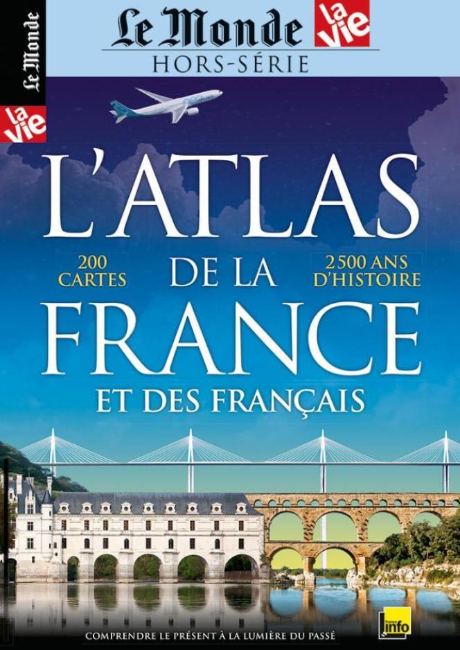 La couverture de l'Atlas de la France et des Français.