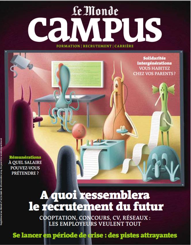 Le Monde-Campus Novembre 2014.