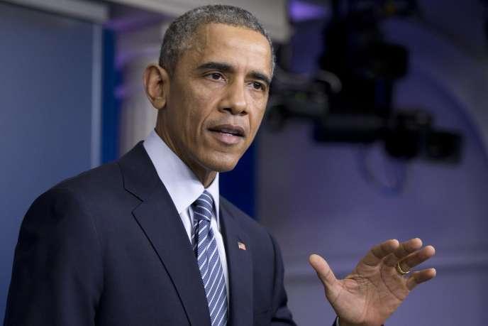Barack Obama s'est exprimé sur la décision du grand jury de Ferguson dès lundi soir.