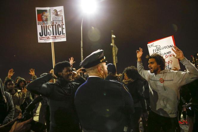 A Ferguson, mardi soir.