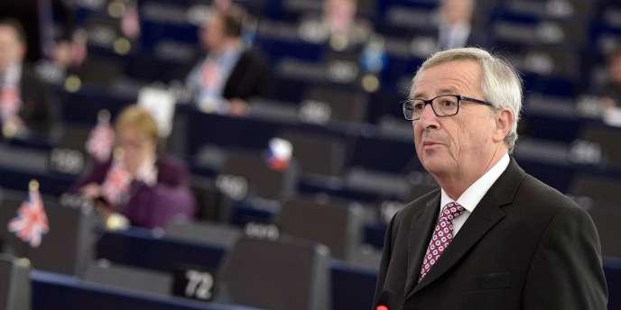 Jean-Claude Juncker, le 26 novembre.