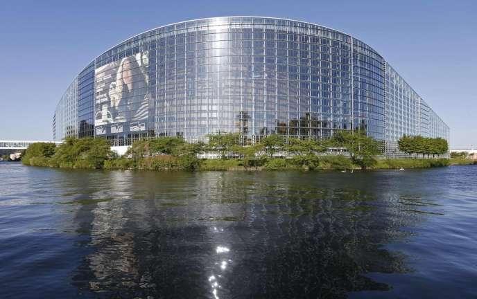 Le siège du Parlement européen de Strasbourg.