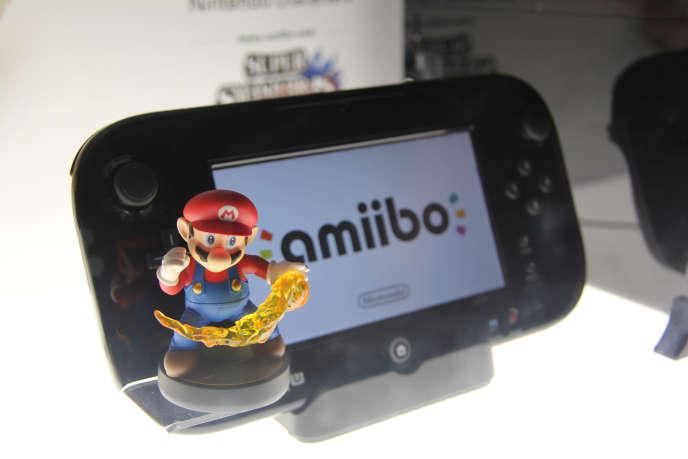 Un Amiibo Mario.
