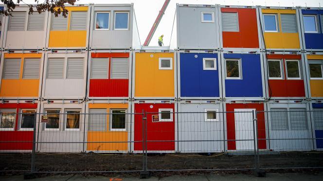 Des containers pour répondre à la crise du logement.