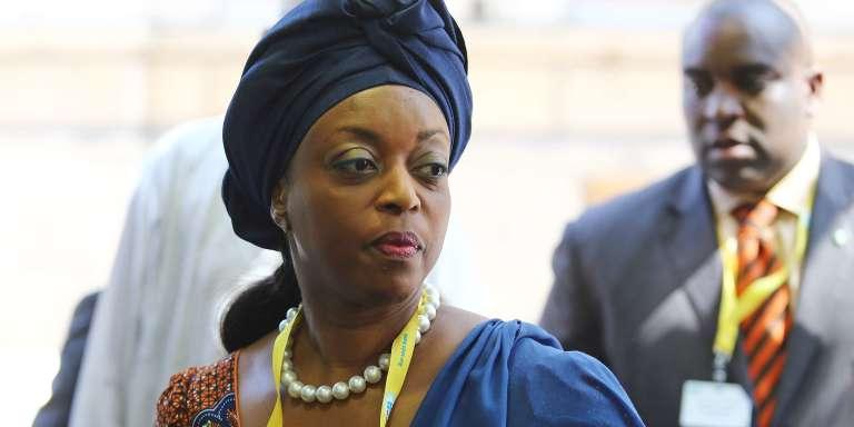 Diezani Alison-Madueke,ancienne ministre nigériane du pétrole du Nigeria, en juin 2012, à Vienne, lors d'une conférence de l'OPEP.