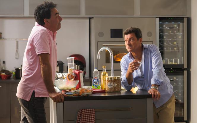 Eric Carrière et Francis Ginibre dans le film français de Pierre-Henry Salfati,