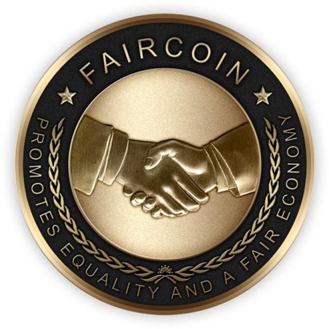 Le logo du Faircoin.