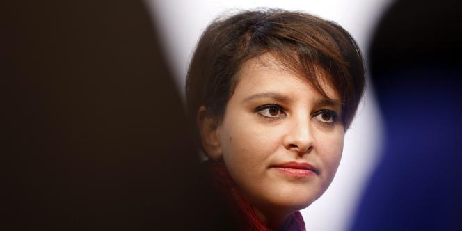 Najat Vallaud-Belkacem, à Paris, le 28 novembre.