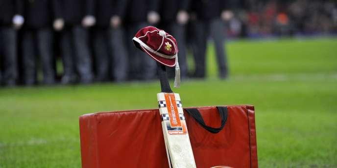 Hommage au joueur de cricket australien Phillip Hugues, le 29 novembre à Cardiff.