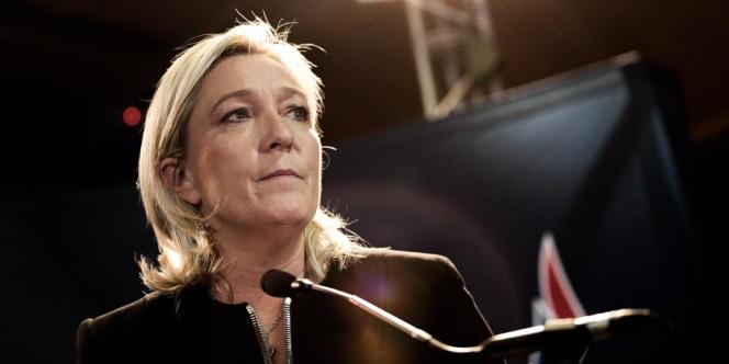Marine Le Pen, le 29 novembre à Lyon.