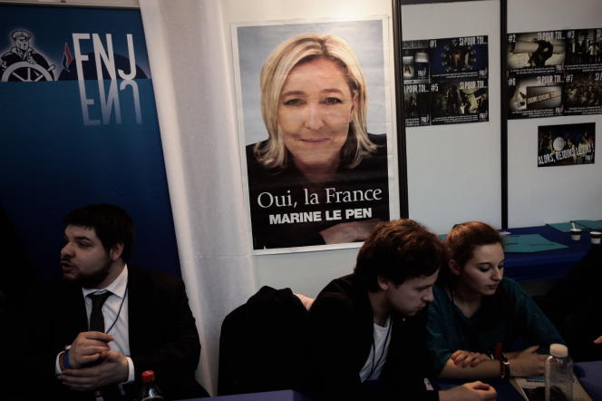 Au congrès du Front national à Lyon, le 29 novembre 2014.