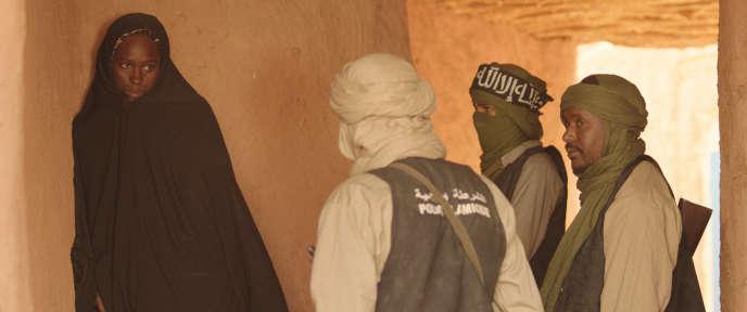 Une scène du film mauritanien et français d'Abderrahmane Sissako, «Timbuktu», sorti en salles mercredi10décembre 2014.