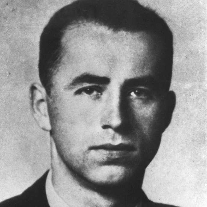 Portrait non daté du criminel nazi Aloïs Brunner dont la mort a été annoncée en décembre 2014 et qui a bénéficié de protections en Syrie.