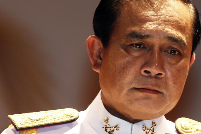 Le général thaïlandais Prayuth Chan-o-cha, premier ministre autoproclamé depuis son coup d'Etat du 22 mai 2014.
