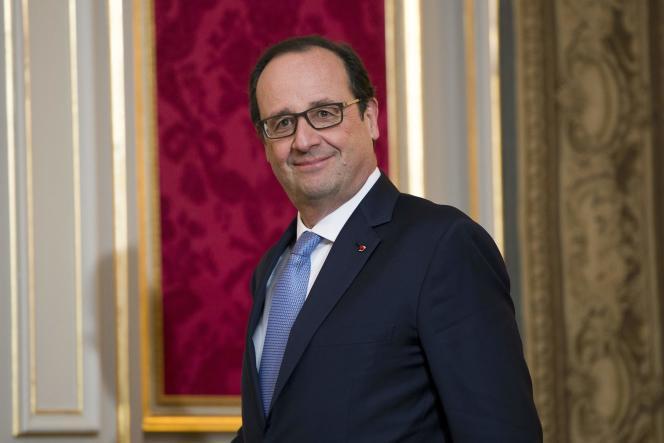 François Hollande à l'Elysée, le 1er décembre 2014.