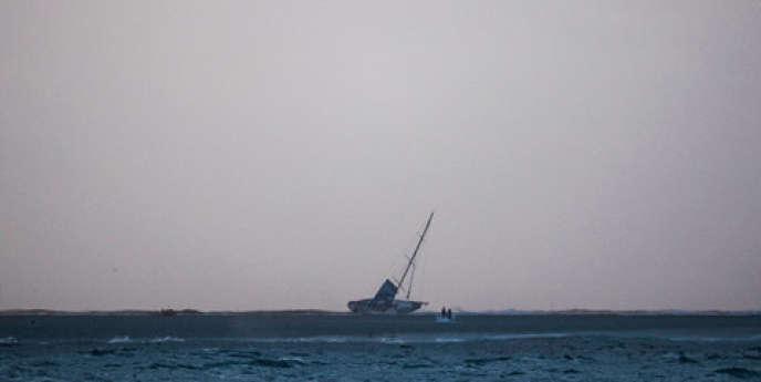 «Vestas» vu du bateau «Team-Alvimedica».