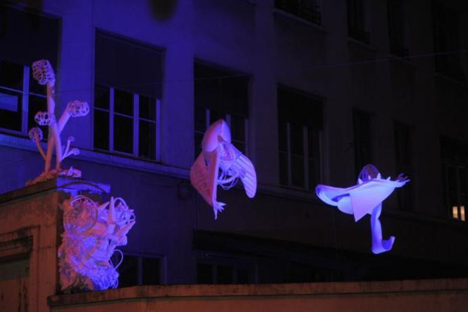 Image Labo#8, Théâtre des Asphodèles, Cour  de l'Ecole Michelet.