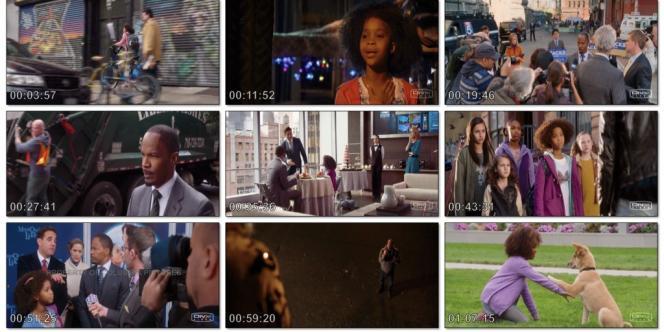 Des images extraites de la version piratée du film