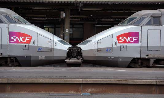 Gare de Lyon, à Paris.