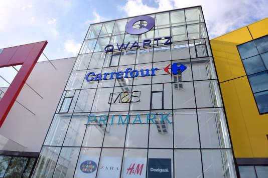 Une prise d'otages était en cours dans le centre commercial Qwartz de Villeneuve-la-Garenne lundi 13 juillet.